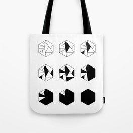 HEXAGONE MULTIPLE Tote Bag