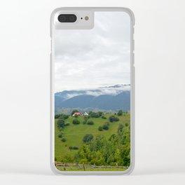 Beautiful Transylvanian mountain landscape Clear iPhone Case