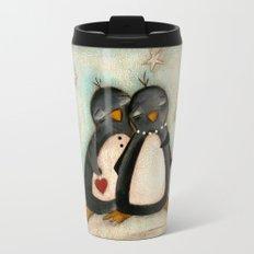 Penguin love -  Travel Mug