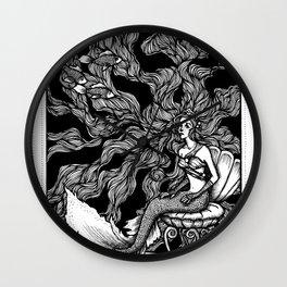 Hans Christian Andersen Little Mermaid Wall Clock