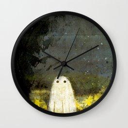 Creepy Painting Wall Clock