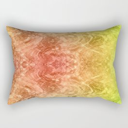 Psychedelic design. Rectangular Pillow