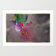 Bodies in Space: Decompression Art Print