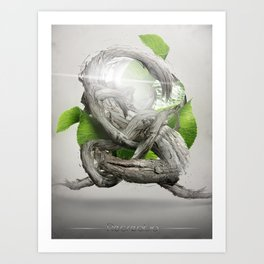 Recreatio Art Print