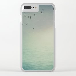 Emptiness In Between Clear iPhone Case