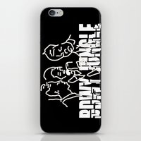 reggae iPhone & iPod Skins featuring Singing Reggae - Bdwy Jungle by The Peanut Line