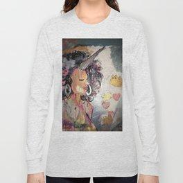 Black Unicorn: Sugar Oompa Loompa Long Sleeve T-shirt