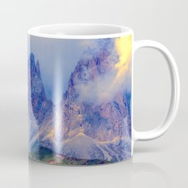 rocky mountain and cloudy sky Coffee Mug