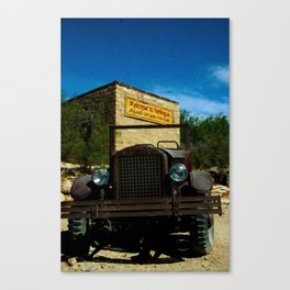 Viva Terlingua! Canvas Print