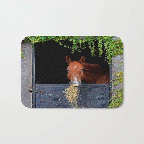Home is where the Horse is Bath Mat