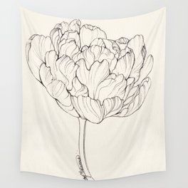 Diamond Tulip Wall Tapestry