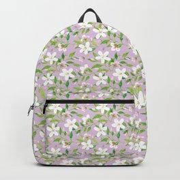 Jasmine Delight Violet Backpack