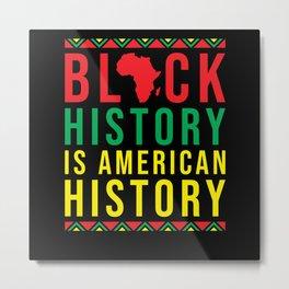 Black History Month American History Metal Print