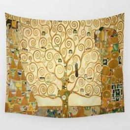 Gustav Klimt - Tree of Life Wall Tapestry