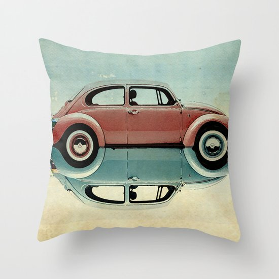 love bug Throw Pillow