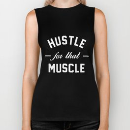 Hustle For That Muscle womens gym hustle Biker Tank