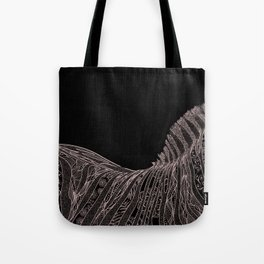 Gorgeous Abstract Zebra Flowers Design Tote Bag