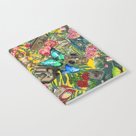 tropical in yellow  Notebook