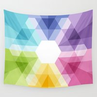 fig Wall Tapestries featuring Fig. 021 by Maps of Imaginary Places
