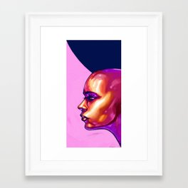 Noise - Ver.2 Dots Framed Art Print