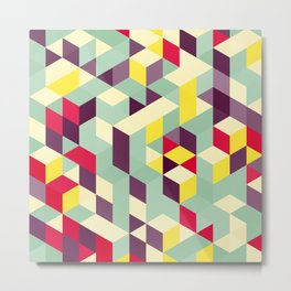 Magical cubes Metal Print