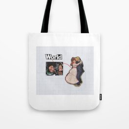 Connection To one Another Tote Bag