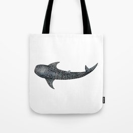 Whale shark Rhincodon typus Tote Bag