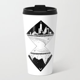 City by the Mountains Travel Mug