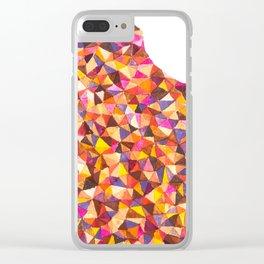 a warm feeling Clear iPhone Case