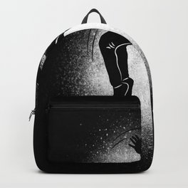 Ask Me If I Can Do A Back Flip Motif Backpack
