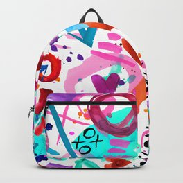 Abstract Love Backpack