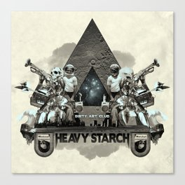 Heavy Starch Canvas Print