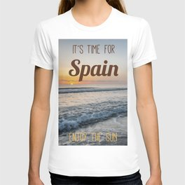 Time for spain T-shirt