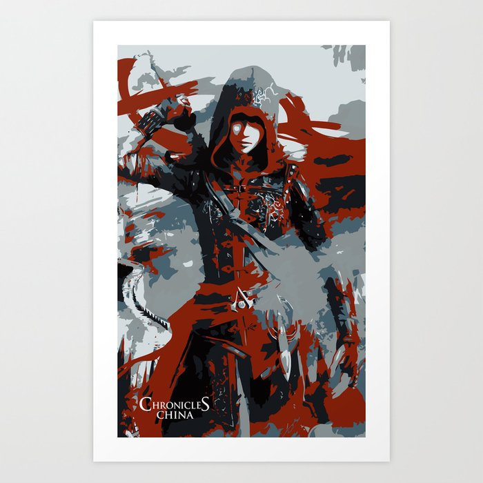 Assassin S Creed Chronicles China Shao Jun Minimalistic Art Print
