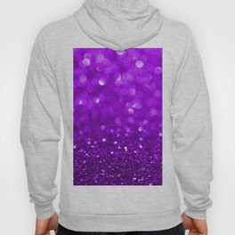 Purple disco glitter and sparkles Hoody