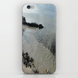 Your own private beach...  iPhone Skin