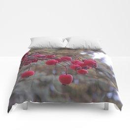 Fall berries Comforters