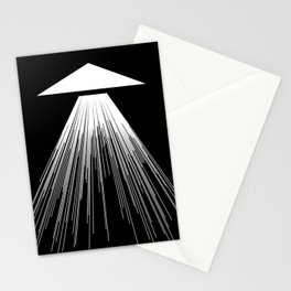 Abstraction 015 - Minimal Geometric Triangle Stationery Cards