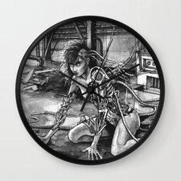 Forgotten Creation Wall Clock