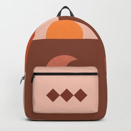 Abstraction_SUN_MOON_ARCHITECTURE_Minimalism_001 Backpack