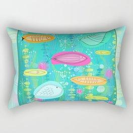 Big Fish Little Fish Rectangular Pillow