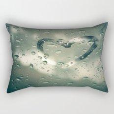 Love on a Rainy Day Rectangular Pillow