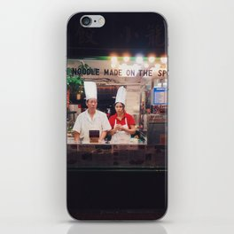 Made on the spot iPhone Skin