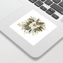 Magnolia Bouquet Sticker