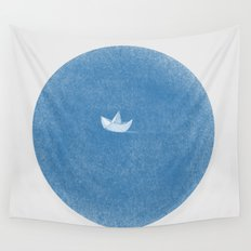 into the sea Wall Tapestry