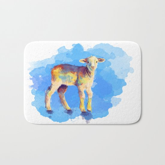 Litte Lamb Bath Mat