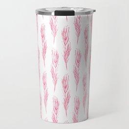 Light as a pink feather Travel Mug