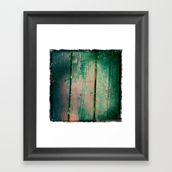 deck Framed Art Print