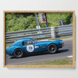 Cobra 289 Sports Car Le Mans Classic Serving Tray