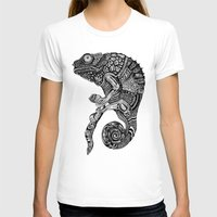 chameleon T-shirts featuring Chameleon  by Ejaculesc